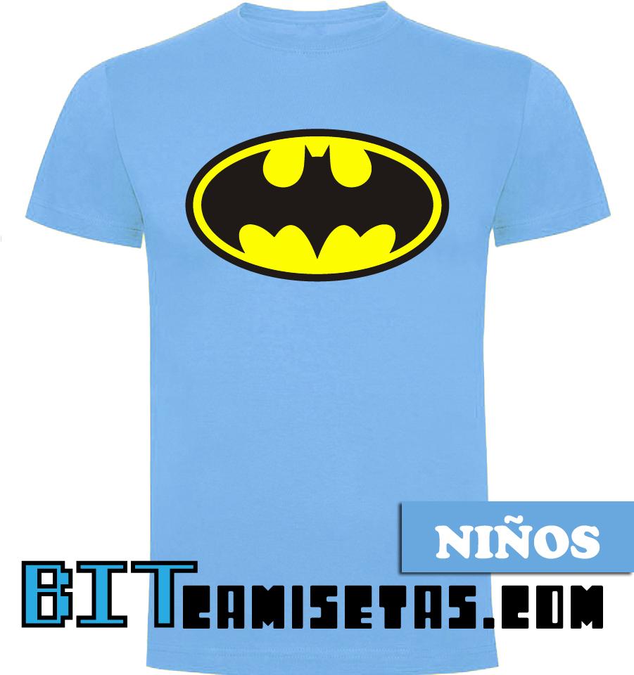 65b9924ae Camiseta Batman Manga Corta Niño